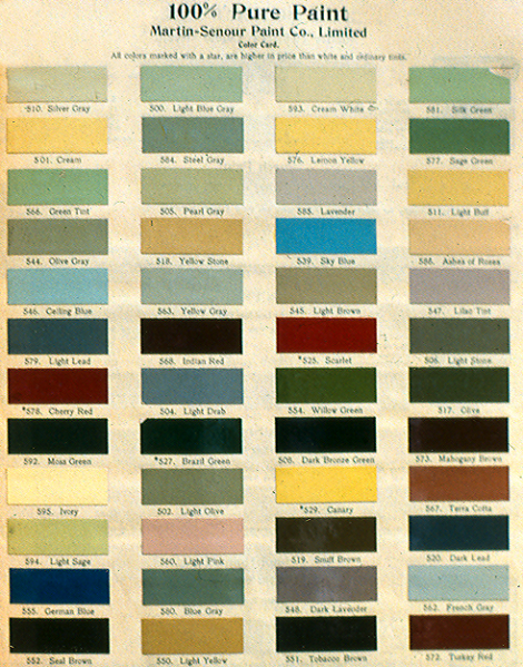 The Great Divide What Happened To Colours In 1900 Old House Colors Part 2